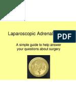 SAGES Laparoscopic Adrenalectomy