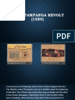 First Pampanga revolt