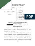 USA vs. Thomas Caldwell - Criminal Complaint