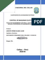 CLASIFICACION DE LAS MAQUINAS ELECTRICAS