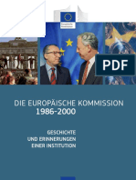 The European Commission 1986-2000. DE