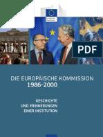 The European Commission 1986-2000. DE