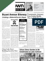 October 2006 Uptown Neighborhood News