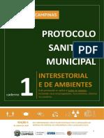 Caderno 1_ Protocolo Sanitário Municipal INTERSETORIAL e de AMBIENTES para Implementação do Plano São Paulo no Município de Campinas_ 06 junho 12h