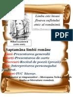 Saptamâna limbii române