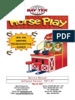 Horse Play Service Manual