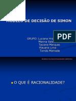 10 - MODELO DE DECISÃO DE SIMON