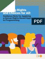 2020 HRBA Guidance