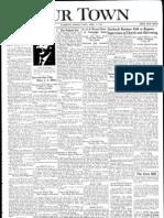 Our Town April 17, 1936