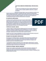 Las Reglas de Conflicto Del Derecho Internacional Privado en El Código Civil Peruano