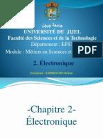 2- Electronique M