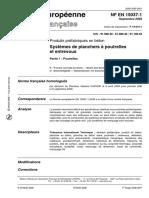 Produits préfabriqués en béton - Systèmes de planchers à poutrelles et entrevous Partie 1  Poutrelles
