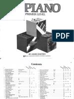 Bastien Piano Basics Primer Level