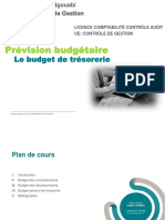 Budget de trésorerie