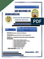 TRABAJO MONOGRAFICO DE DERECHO PENAL TEMA LIBRO TERCERO FALTAS
