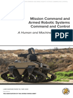 Bunker Robert - Mission Command and Armed Robotic Systens (2020)