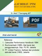 Alat-alat Berat(PTM)