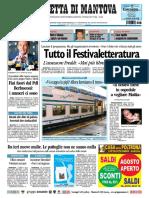 Gazzetta Mantova 31 Luglio 2010
