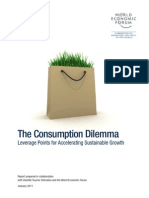 WEF Consumption Dilemma Sustainable Growth Report 2011