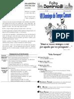 Folha Paroquial Vale S. Martinho (426) - 20 Fevereiro 2011
