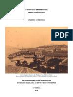 Caderno de Resumos do II Seminario Internacional Brasil no século XIX