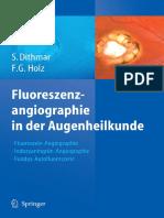 Dithmar, Holz - Fluoreszenzangiographie in der Augenheilkunde  1st. ed.2008