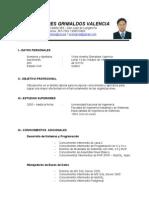 CV Victor Grimaldos