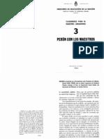 Cuadernos para el maestro argentino 3 Perón con los Maestros alta