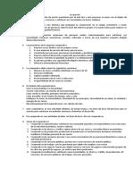 DERECHO COOPERATIVO - CUESTIONARIO Examen final