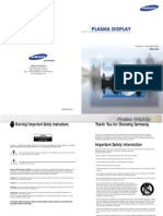 Samsung SPN4235 Plasma pdf