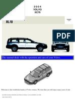 VOLVO XC70 2004 User Manual