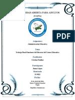 Trabajo Final-Administracion Educativa