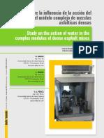 26 Estudio sobre la influencia de la acción del agua en el módulo complejo de mezclas asfálticas densas