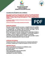 GUION LITURGICO Eucaristia Viernes 03-AGO-18
