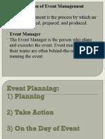 Event Mgt Presentation PPT 18