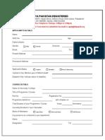 2 - Diya Application Form - UL