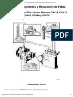 Manual de Diagnóstico y Reparación de Fallas Sistema Electrónico