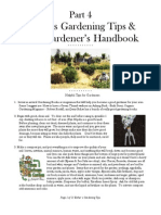 Esther's Gardening Tips, Parks Gardener's Handbook