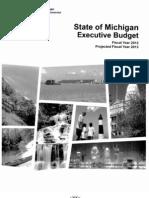 Michigan- Gov Snyder's Proposed Budget