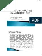caro 2003