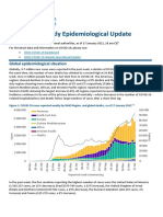 Weekly Epidemiological Update 23