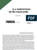 Suenos y Aspiraciones de Los Mexicanos