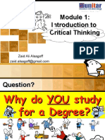Introduction to Critical Thinking 1780