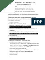 Langkah-langkah Instalasi Dhcp Server Debian 4