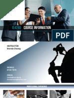 IE4240 1 Course Info