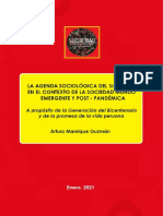 Aomg - La agenda de la sociología en el siglo XXI, en el contexto de la sociedad mundo emergente y post - pandémica
