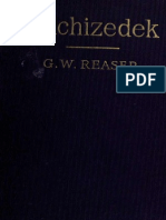 Melchizedek G.W. Reaser PDF