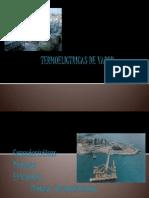 TERMOELICTRICAS DE VAPOR