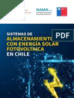 Sistemas de Almacenamiento Con Energía Solar Fotovoltaica en Chile