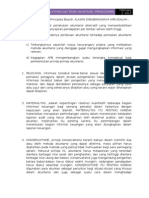 Teori Akuntansi, Latihan soal UAS 2011